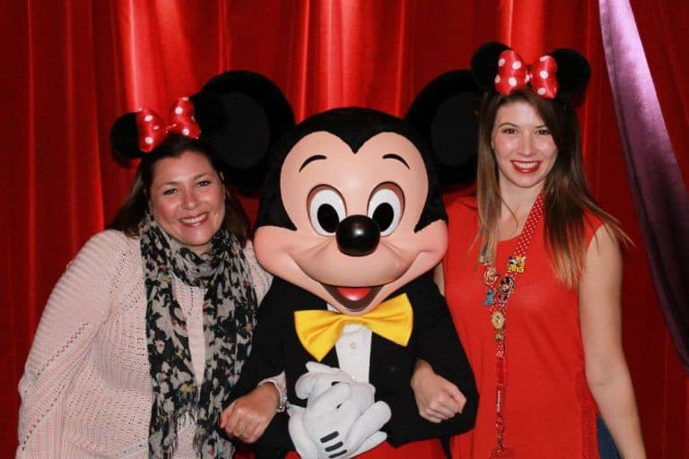 Meeting Micky Mouse